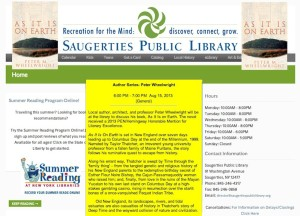 Saugerties Library Reading